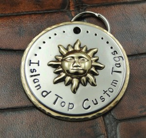 Island Top Custom Tags