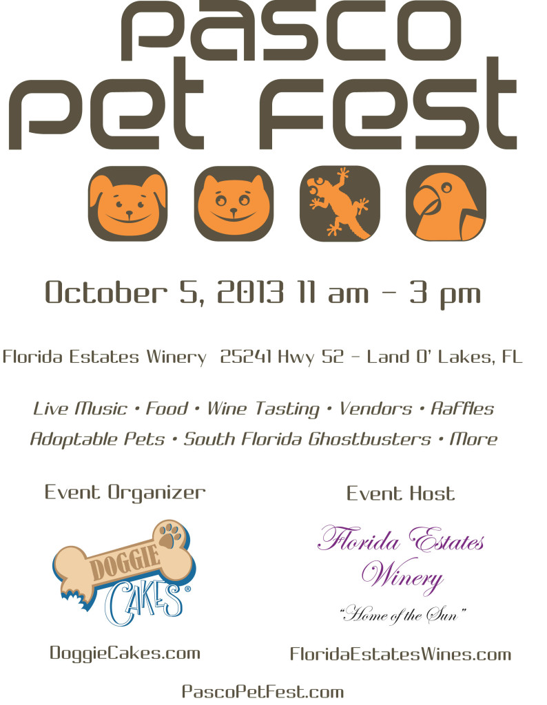 Pasco Pet Fest Program 2013
