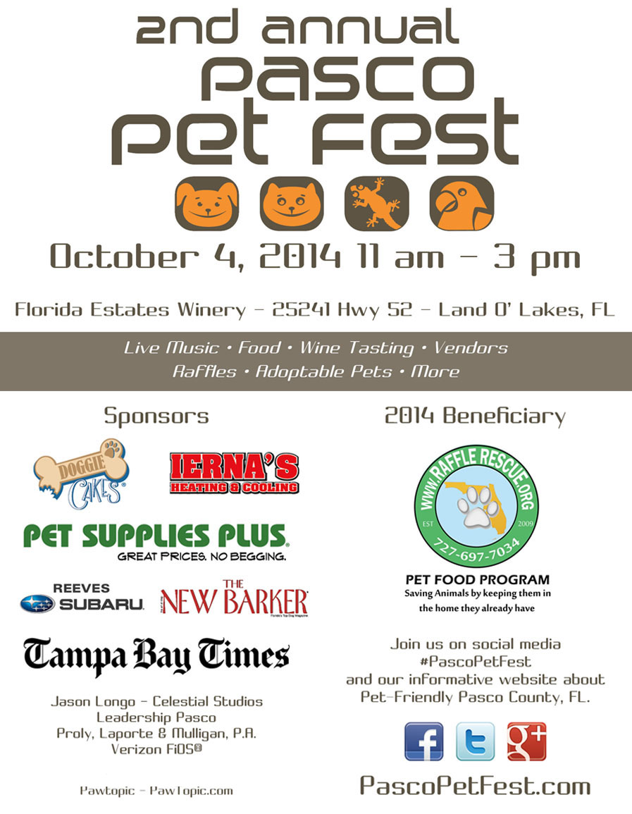 Download our Pasco Pet Fest Flyer