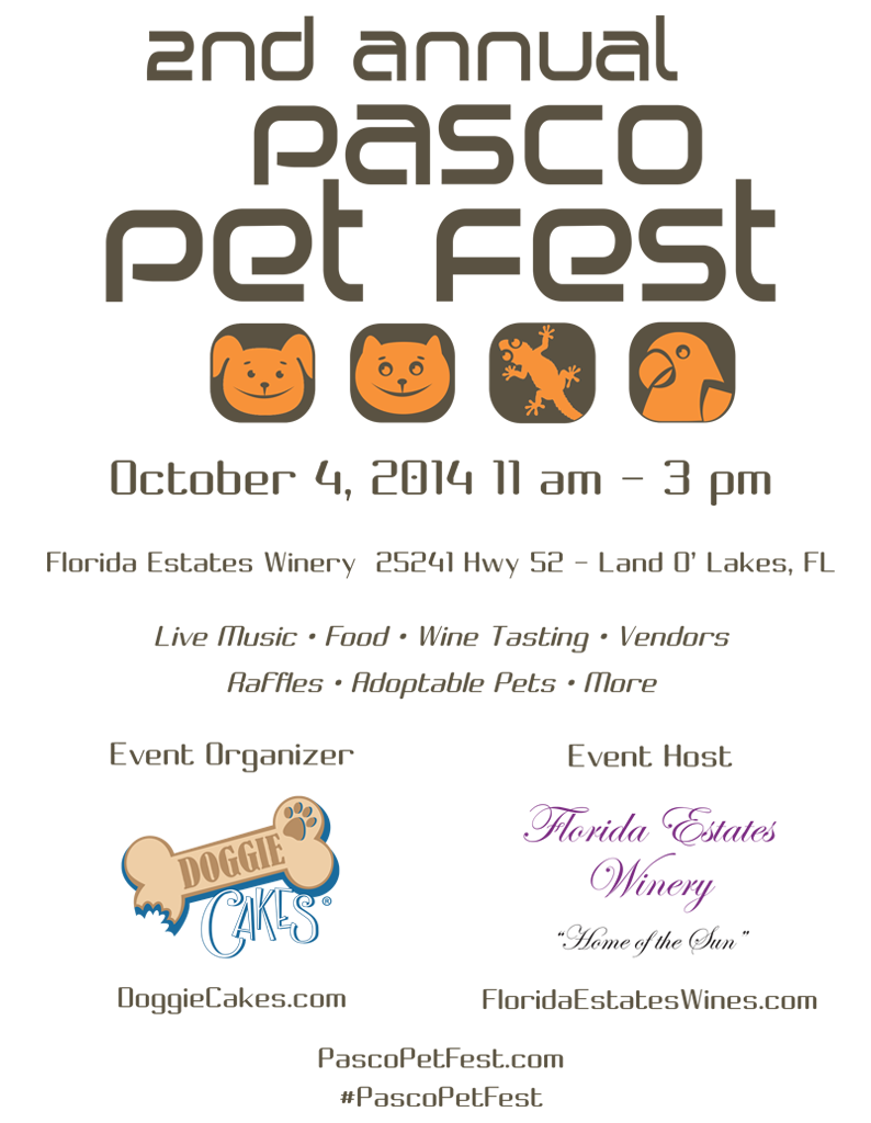 Pasco Pet Fest Program Cover - 2014